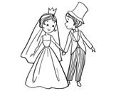 Coloriages de Mariages