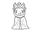 Dibujo de Un petit vampire