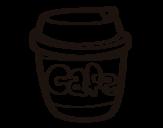 <span class='hidden-xs'>Coloriage de </span>Verre de café à colorier