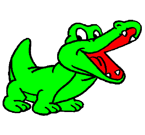 Dessin de crocodile colorie par membre non inscrit le 05 de janvier de 2011 - Crocodile en dessin ...