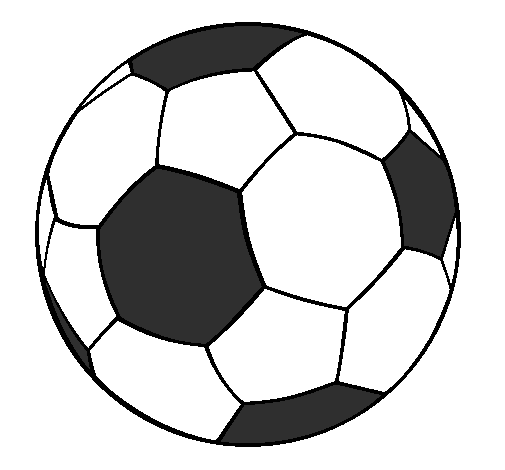 Dessin De Ballon De Football Ii Colorie Par Membre Non Inscrit Le 08 De Janvier De 2011 A Coloritou Com