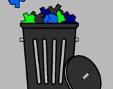 Coloriage Corbeille colorié par douglas