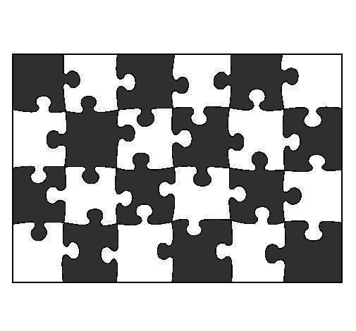 Dessin de puzzle colorie par membre non inscrit le 14 de for Puzzle a colorier gratuit