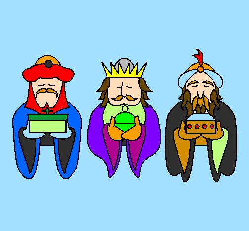 Dessin De Les Rois Mages 4 Colorie Par Membre Non Inscrit