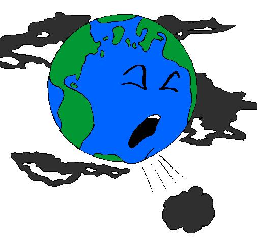 Dessin De Terre Malade Colorie Par Membre Non Inscrit Le 18 De