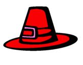 Coloriage Chapeau pèlerin colorié par pegasus