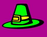 Coloriage Chapeau pèlerin colorié par Kyoya