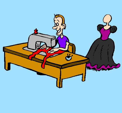 Dessin de couturier colorie par membre non inscrit le 20 de f vrier de 2011 - Dessin couturiere ...