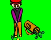 Coloriage Golf II colorié par yetu
