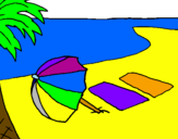 Coloriage Été 4 colorié par keetye