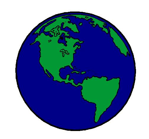 Dessin Planète Terre dessin de planète terre colorie par membre non inscrit le 10 de