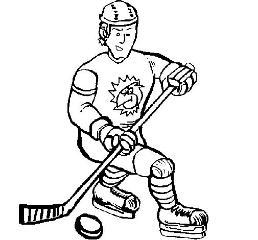 Joueur de hockey sur glace