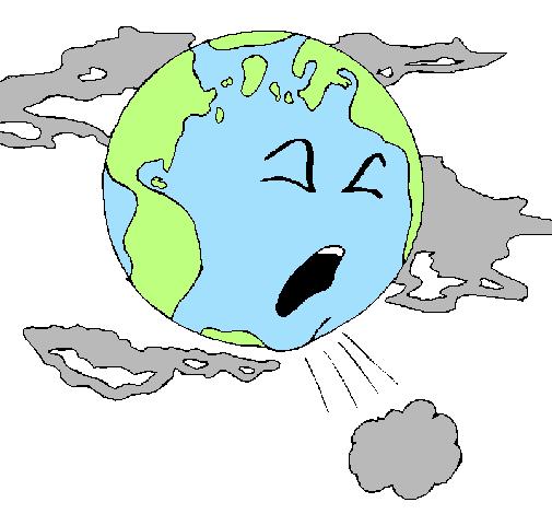 Dessin De Terre Malade Colorie Par Membre Non Inscrit Le 09