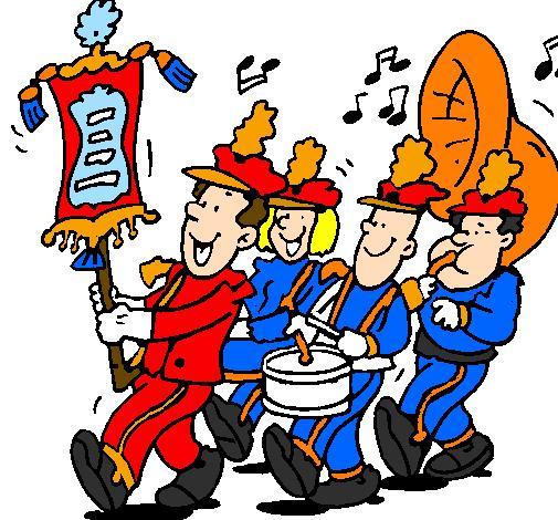 Xylophone Dessin de Fanfare colo...