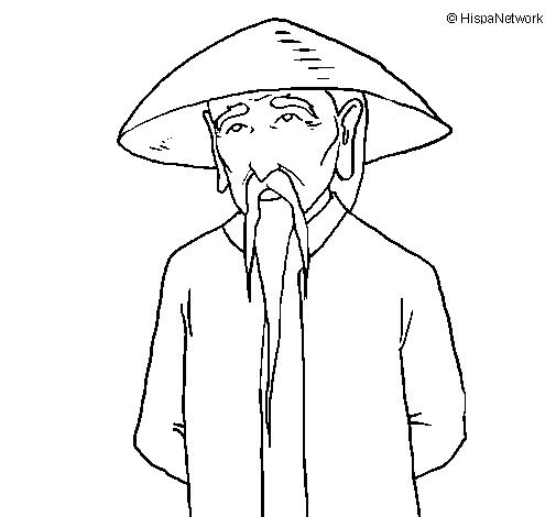 Dessin De Chinois Colorie Par Membre Non Inscrit Le 26 De Mai De