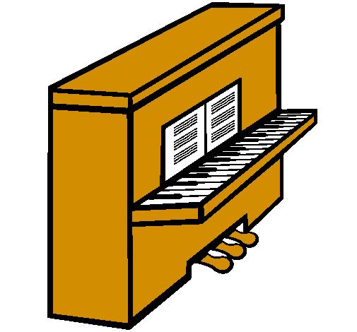 Dessin De Piano dessin de piano colorie par membre non inscrit le 24 de mai de 2011