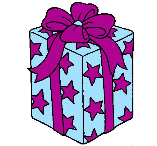 cadeau envelopp dans du papier toiles