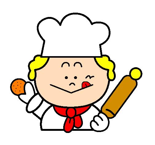 Dessin de cuisinier 2 colorie par membre non inscrit le 28 - Chef cuisinier dessin ...