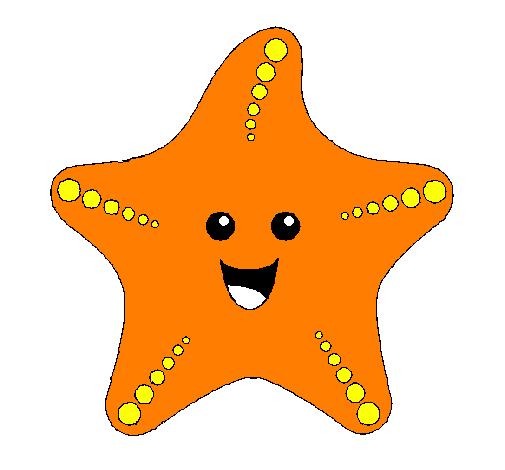 Dessin de Étoile de mer colorie par Membre non inscrit le 27 de Juin de 2011 à Coloritou.com