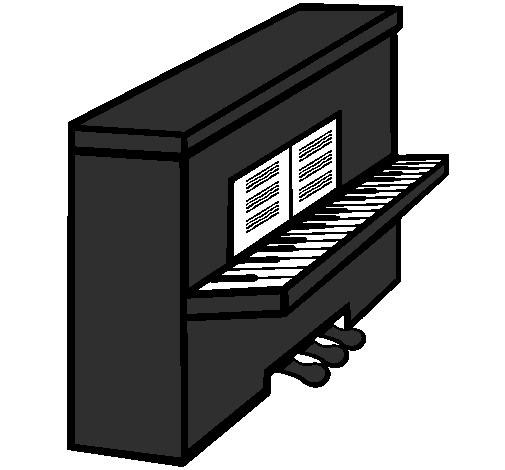 Dessin De Piano dessin de piano colorie par membre non inscrit le 04 de juillet de