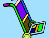 Coloriage Brouette colorié par celine