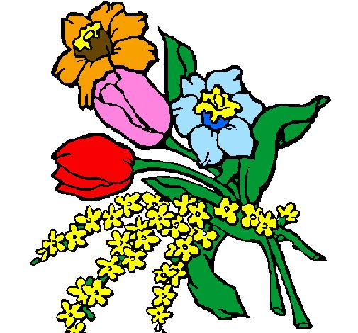 Dessin de bouquet de fleurs colorie par membre non inscrit le 15 de ao t de 2011 - Dessin de fleurs a imprimer en couleur ...