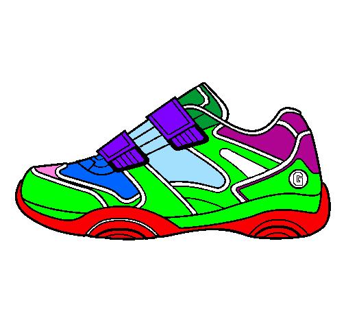 02 Par Gfen6w77 Inscrit Colorie Sport Non Membre Le De Chaussure Dessin dBrCxoe