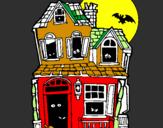 Coloriage Maison du mystère II colorié par LARME