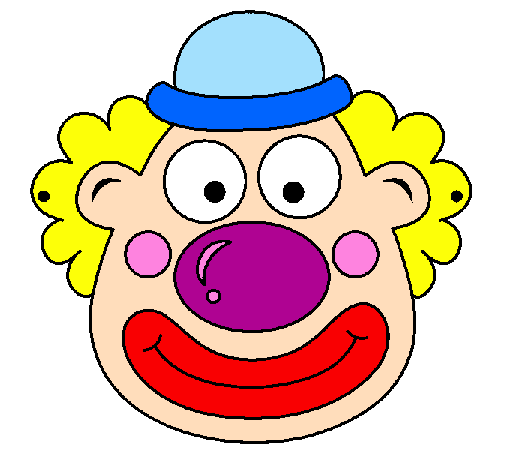 Dessin clown couleur gn41 jornalagora - Photo de clown a imprimer ...