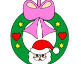 Coloriage Décoration de Noël colorié par kathleen