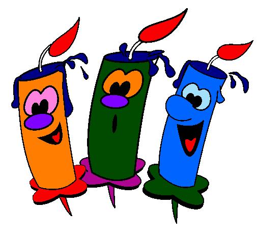 Très Dessin de Bougies colorie par Membre non inscrit le 02 de Novembre  VY62