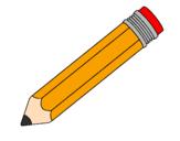 Coloriage Crayon II colorié par jo