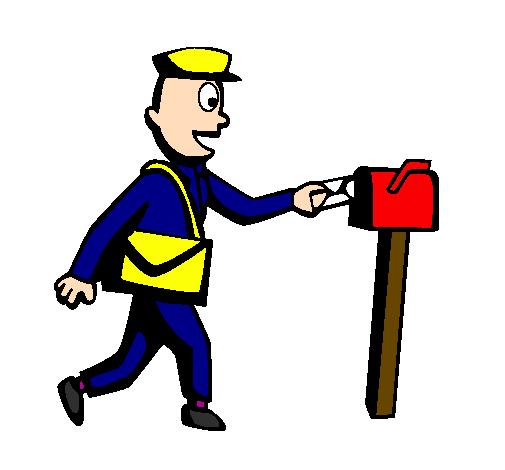 Dessin De Facteur Colorie Par Membre Non Inscrit Le 07 De Novembre De 2011 A Coloritou Com