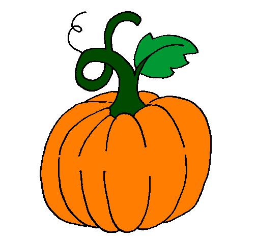 Dessin de Citrouille colorie par Membre non inscrit le 22 de Novembre de 2011 à Coloritou.com