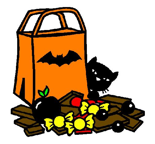Dessin De Bonbons Colorie Par Membre Non Inscrit Le 28 De Novembre