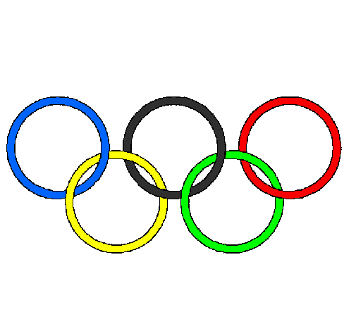 Dessin de anneaux des jeux olympiques colorie par membre non inscrit le 07 de - Anneau des jeux olympique ...