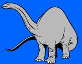 Coloriage Braquiosaure II colorié par gabriel