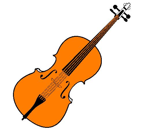 Dessin De Violon dessin de violon colorie par membre non inscrit le 25 de décembre de