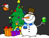 Coloriage Noël II colorié par le meilleur noël