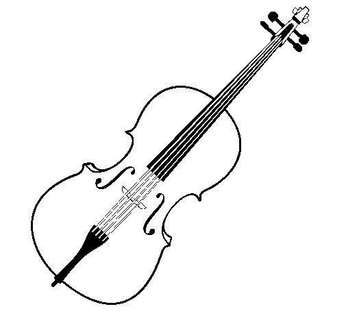 Dessin De Violon dessin de violon colorie par membre non inscrit le 24 de janvier de