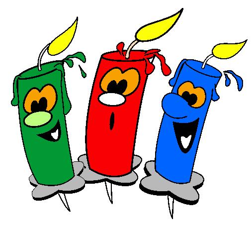 Favori Dessin de Bougies colorie par Membre non inscrit le 28 de Janvier  DU24