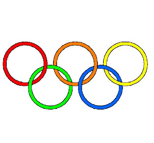 Dessin de anneaux des jeux olympiques colorie par membre non inscrit le 10 de - Anneau des jeux olympique ...