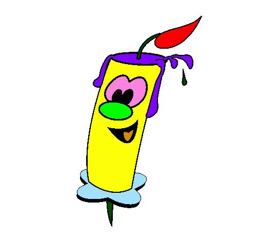 Favori Dessin de Bougie colorie par Membre non inscrit le 07 de Février  DU24