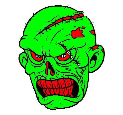 Dessin facile zombie - Comment dessiner un zombie ...