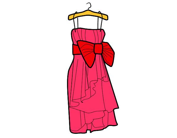 Dessin mode robe rouge   Ensconet d9d3a1efd7d8