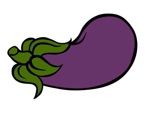 Aubergine Dessin dessin de aubergine colorie par ecoclub le 08 de février de 2013 à