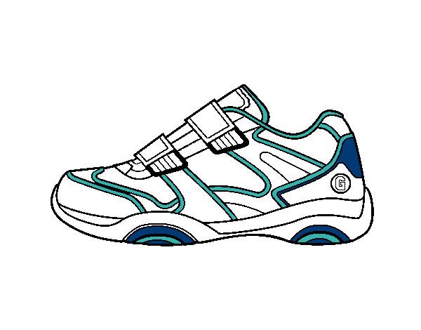 Chaussures de tennis cheerleader