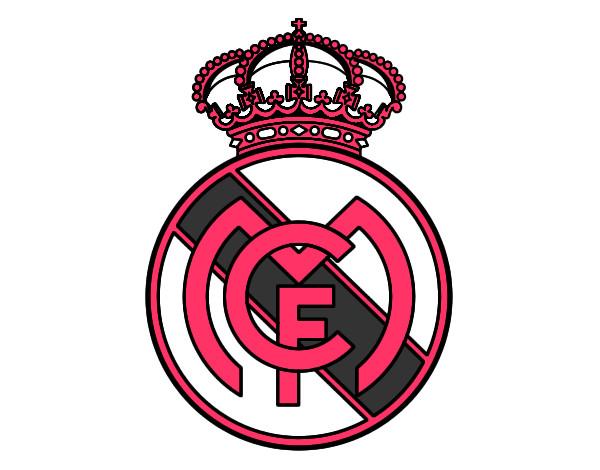 Célèbre Dessin de Blason du Real Madrid C.F. colorie par Anwar le 06 de  KB45