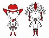 Contenu Cowboy et Indien
