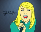 Taylor Swift chantant